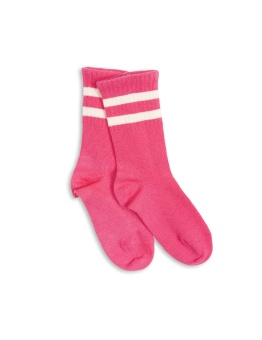 Stripe Sock Pink